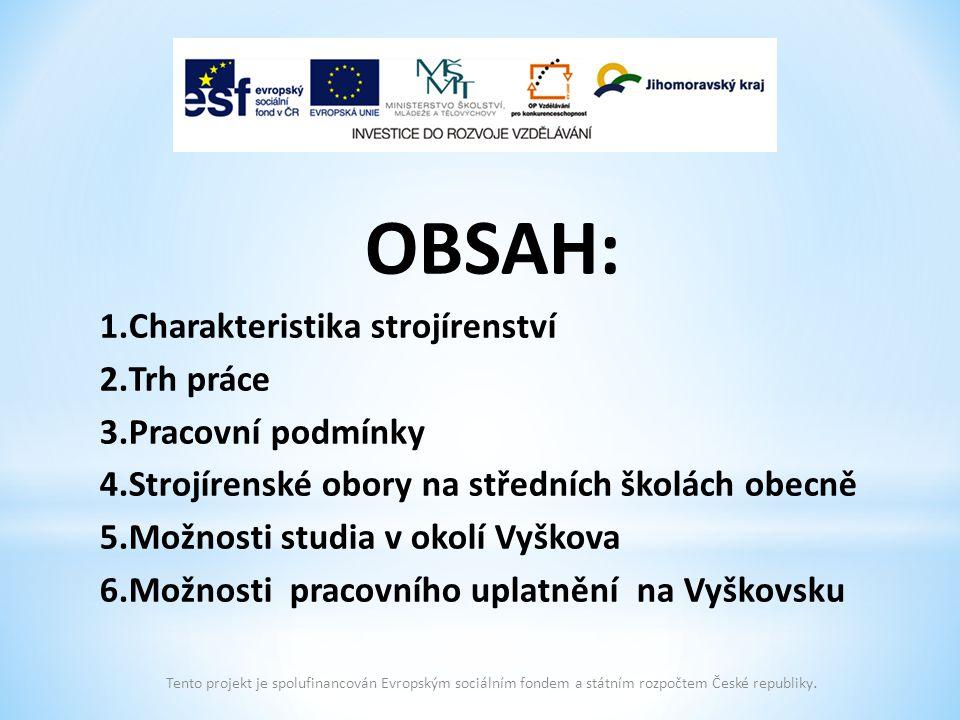 6.Možnosti pracovního uplatnění na Vyškovsku Hestego s.r.o.