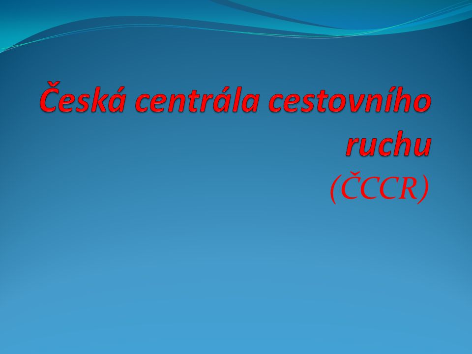 (ČCCR)