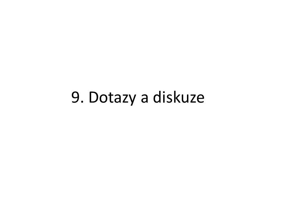 9. Dotazy a diskuze