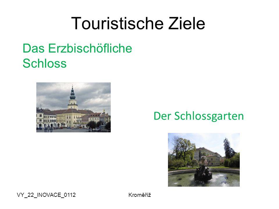 VY_22_INOVACE_0112Kroměříž Touristische Ziele Das Erzbischöfliche Schloss Der Schlossgarten