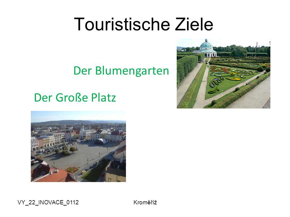 VY_22_INOVACE_0112Kroměříž Touristische Ziele Der Blumengarten Der Große Platz
