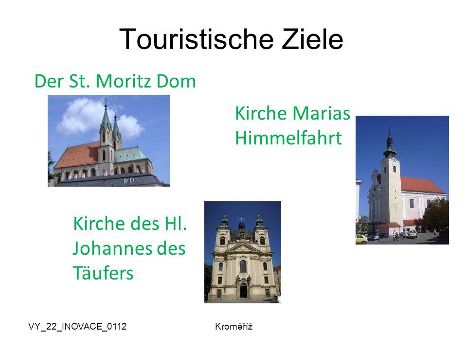 VY_22_INOVACE_0112Kroměříž Touristische Ziele Der St.