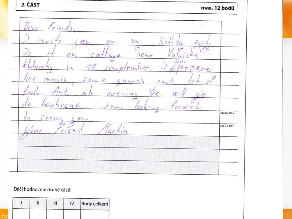 pozvánka na narozeniny anglicky Škola: SOU Valašské Klobouky Ročník: Nástavbové studium Podnikání  pozvánka na narozeniny anglicky