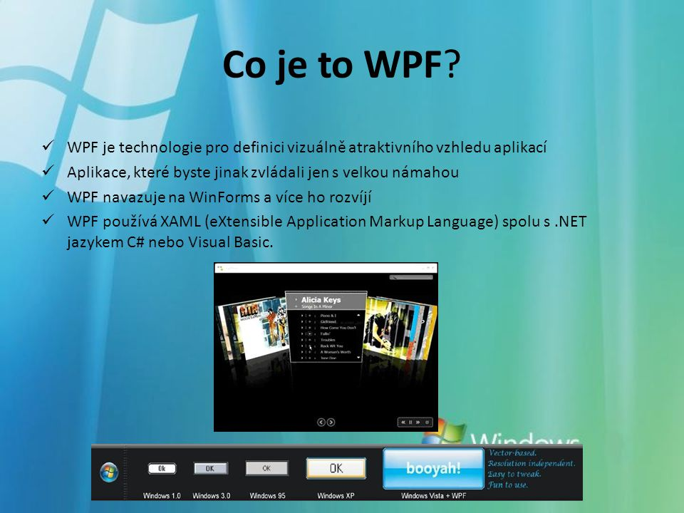 Co je to WPF.