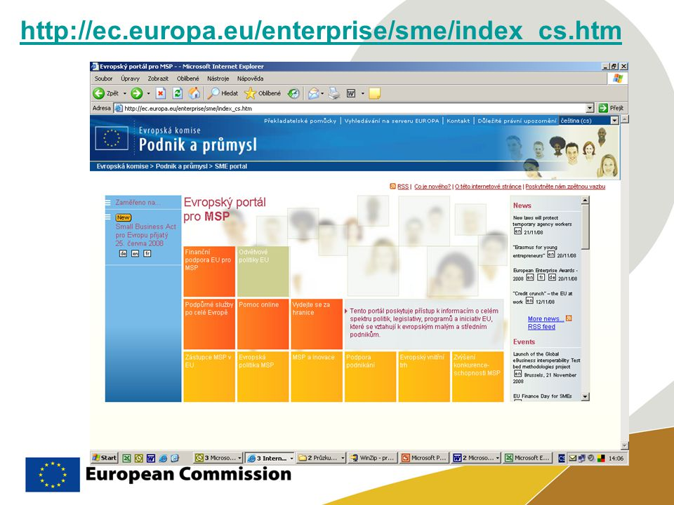 http://ec.europa.eu/enterprise/sme/index_cs.htm