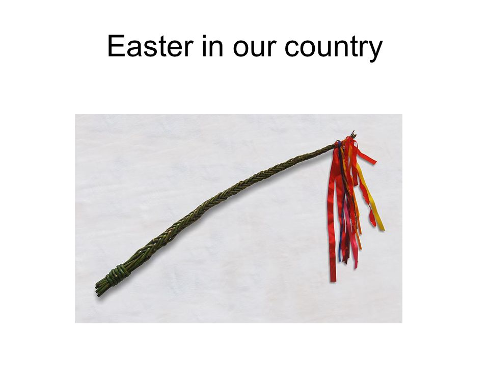 Easter in our country