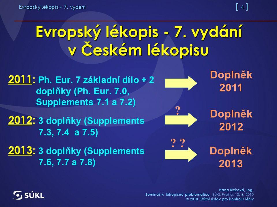 Evropský lékopis – 7. vydání   1   Hana Bízková f864930b7d