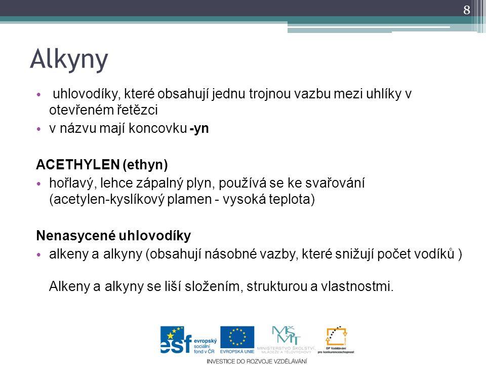 Organicka Chemie Prirodovedny Seminar Chemie 9 Rocnik Zs Benesov