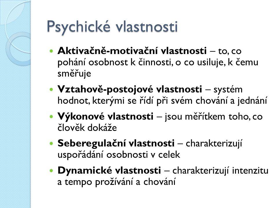 f59c1aad115 Psychická struktura osobnosti Vytvořila Ing. Lenka Hřibová