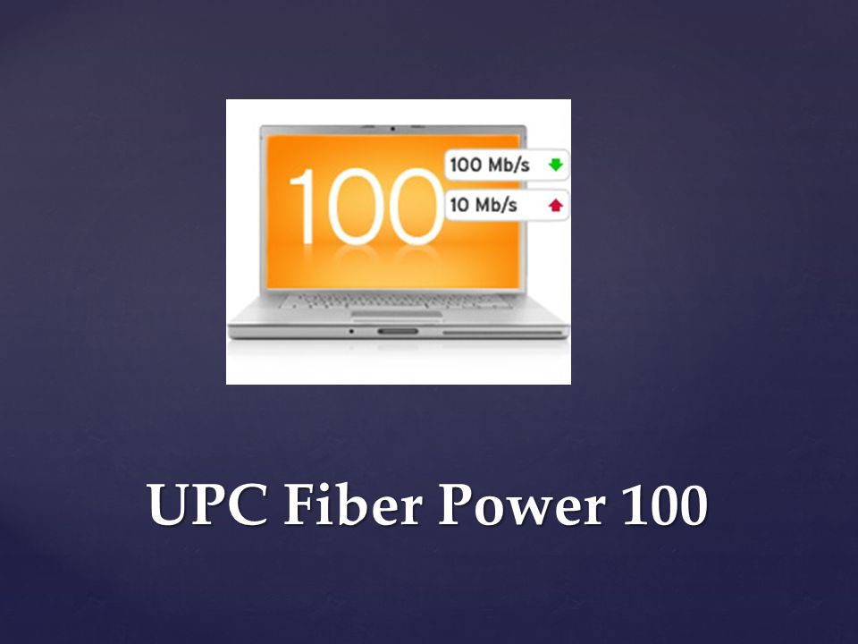 UPC Fiber Power 100