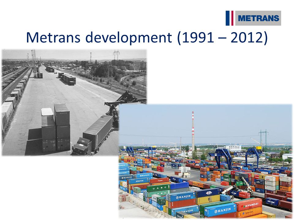 Metrans development (1991 – 2012)