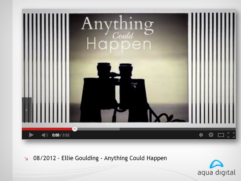 ↘ 08/2012 - Ellie Goulding – Anything Could Happen