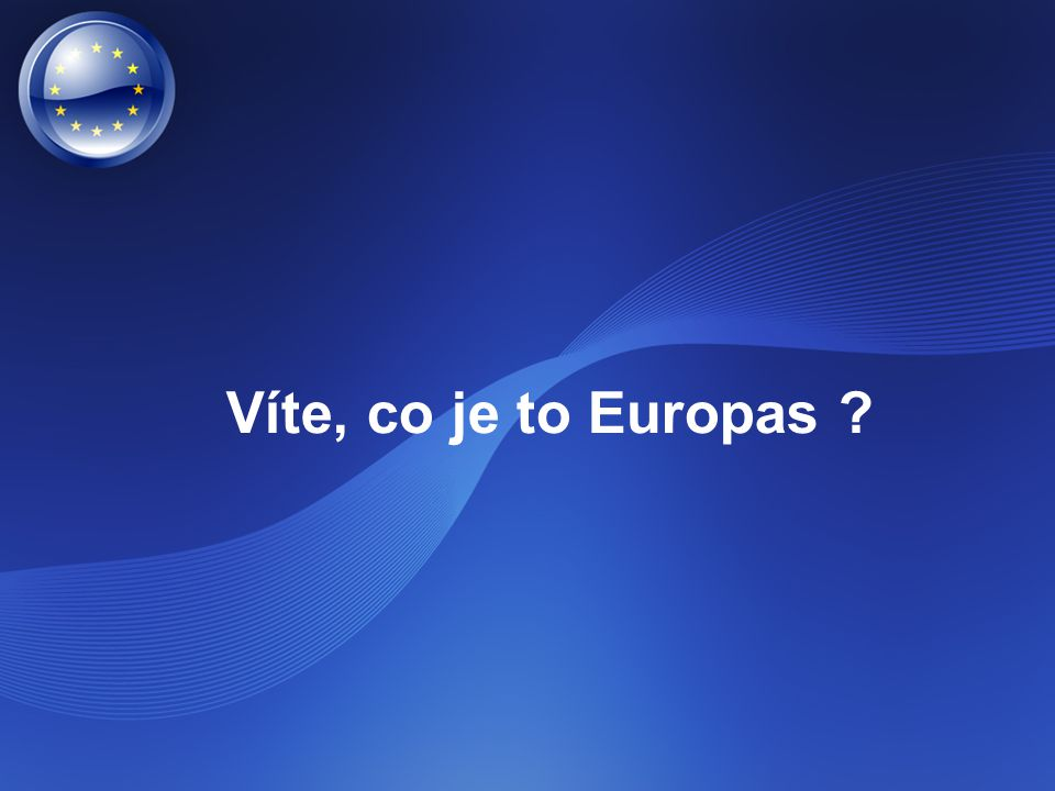 Víte, co je to Europas