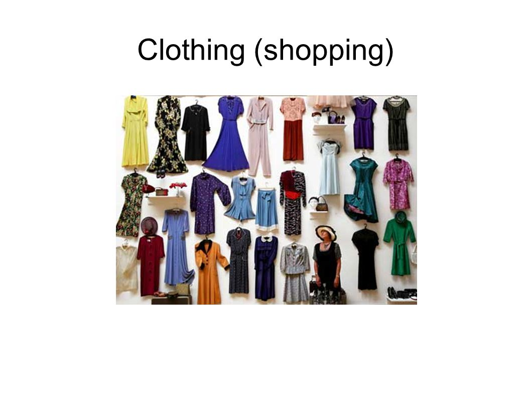 Clothing (shopping)